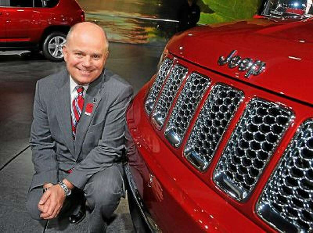 Bob Shuman, 52, chairman of the 2014 North American International Auto Show, celebrating its 25th anniversary, pictured at the 2013 NAIAS. A third-generation auto dealer, he is president of Shuman Chrysler Dodge Jeep Ram in Walled Lake.