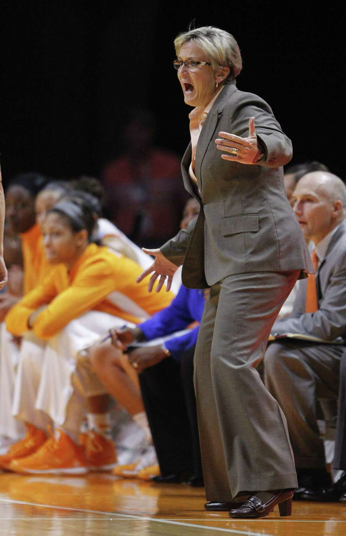 Tennessee head coach Holly Warlick.
