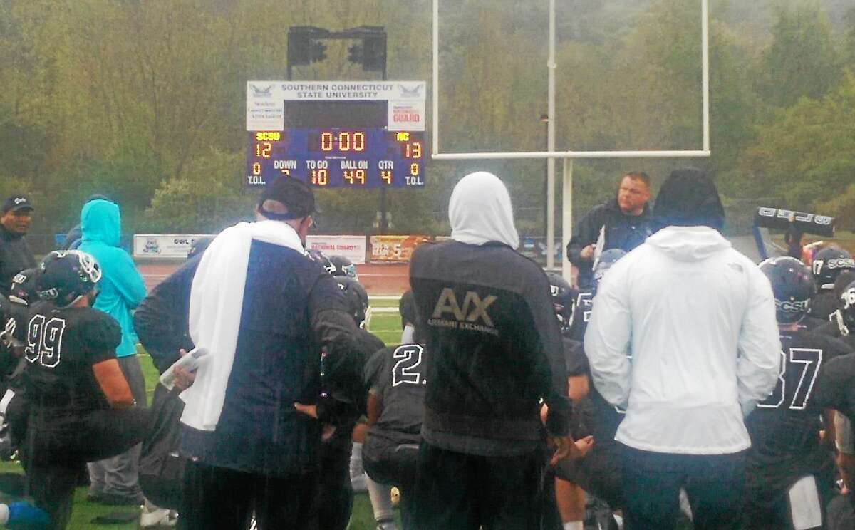 Southern Connecticut State lost a 13-12 heartbreaker to Assumption on Saturday at Jess Dow Field in New Haven.