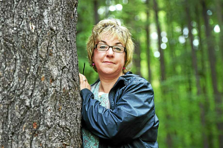 """Branford author Jen Payne says she lets her mood guide her to where she walks. """"It depends on where I'm at, what kind of day I've had."""" Photo: Peter Hvizdak - New Haven Register   / ©2014 Peter Hvizdak"""