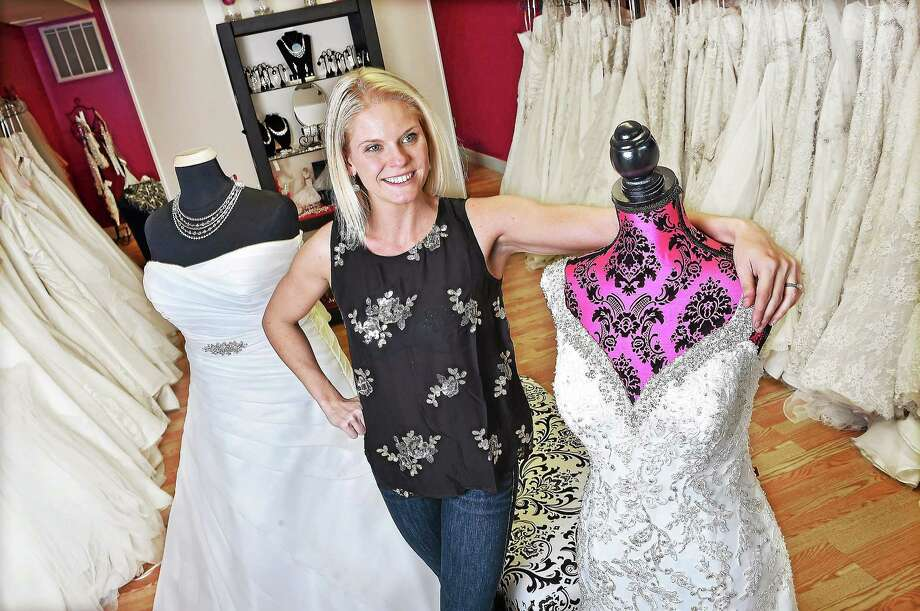Jessica Boni Co Owner Of Bliss Bridal At 116 South Main St In
