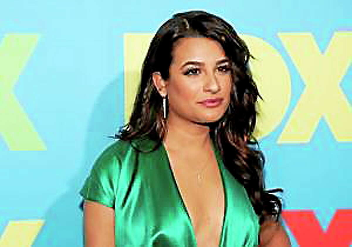 Actress Lea Michele attends the FOX Network 2014 Upfront event on May 12, 2014, in New York.
