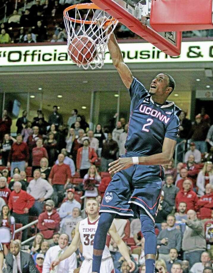 UConn's DeAndre Daniels. Photo: H. Rumph Jr. — The Associated Press    / FR61717 AP