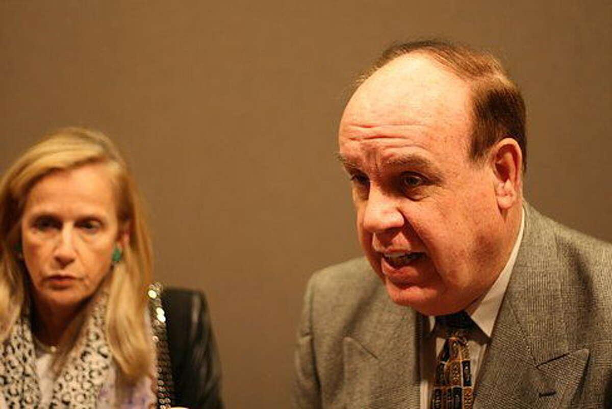 State Sen. Joan Hartley and Rep. Stephen Dargan