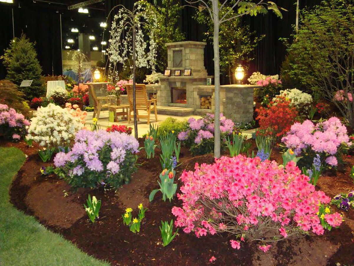 Laura Soll Public Relations The Connecticut Flower & Garden Show offers visitors a whiff of spring through Sunday.