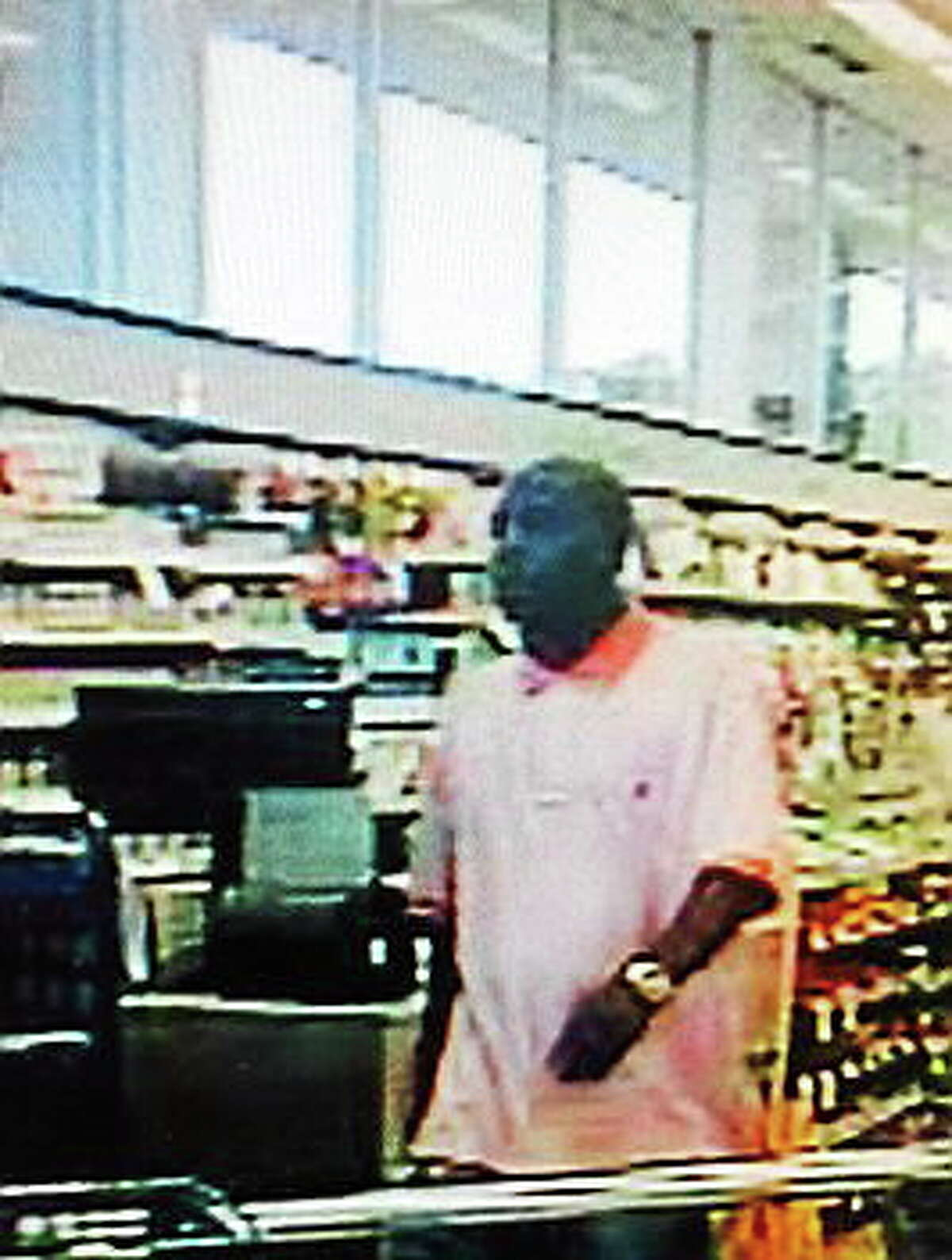 Police are looking to identify this man captured in surveillance footage.