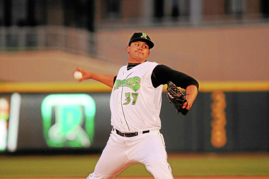 Southington native Sal Romano has a 3.00 ERA through 12 starts this season with Class A Dayton. Photo: Photo Courtesy Of The Dayton Dragons   / Nick Falzerano