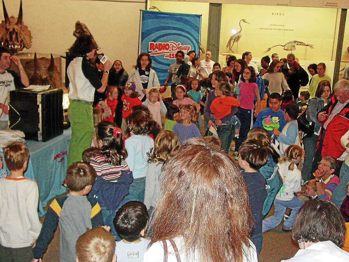 They'll be doing the Dinosaur Dance on Saturday at the Peabody Museum.