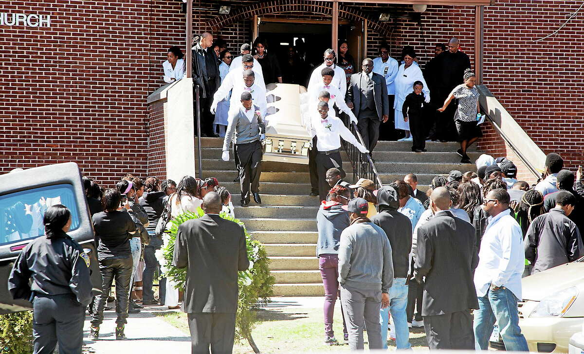 Hundreds attended the funeral for 16-year-old homicide victim Torrence Gamble Jr. at St. Matthews Unison Free Will Baptist Church Thursday morning.