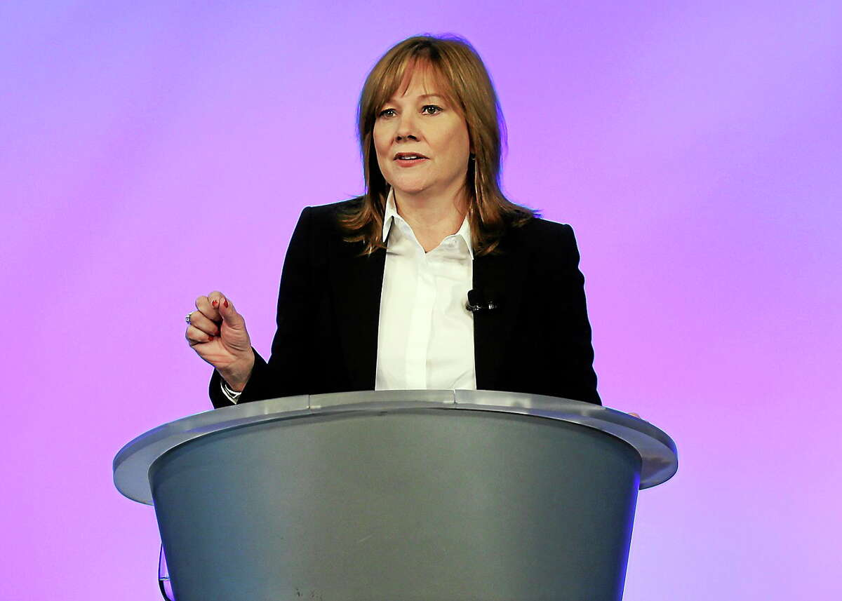 General Motors CEO Mary Barra addresses employees at the automaker's vehicle engineering center in Warren, Mich. on June 5, 2014. Barra said 15 employees have been fired and five others have been disciplined over the company's failure to disclose a defect with ignition switches that is now linked to at least 13 deaths.