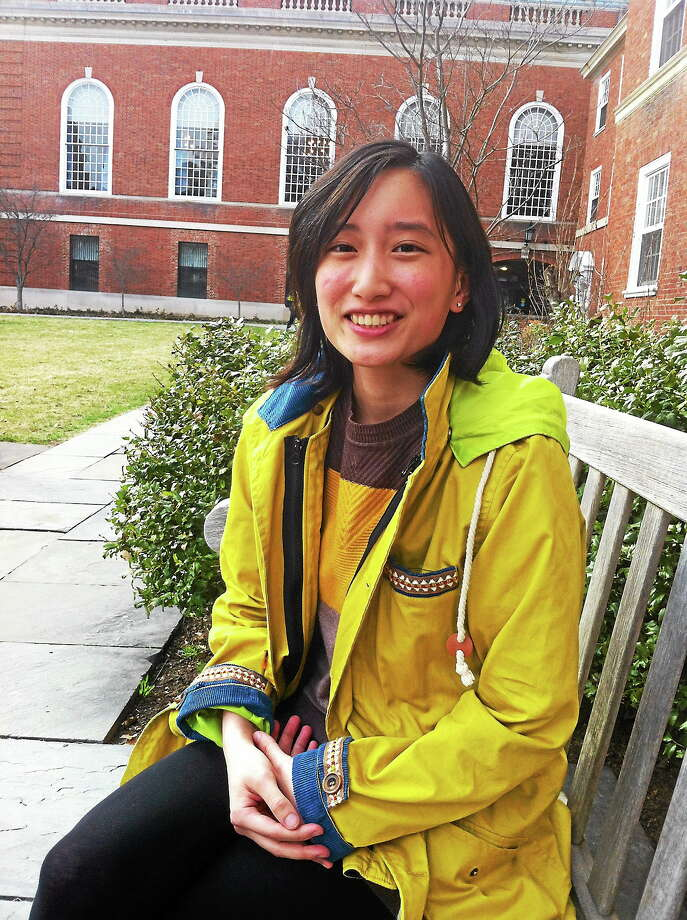 Yale University junior Frances Chan has spent months battling with the university over her weight. Photo: Journal Register Co.
