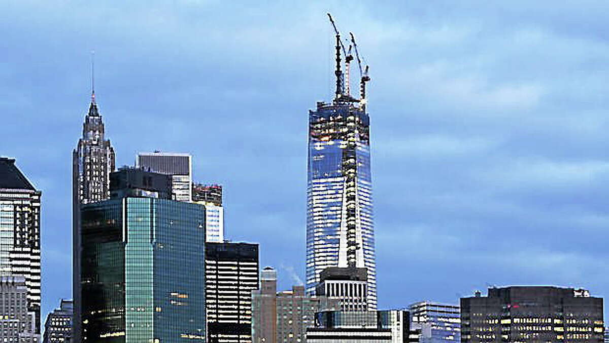 New World Trade Center under construction