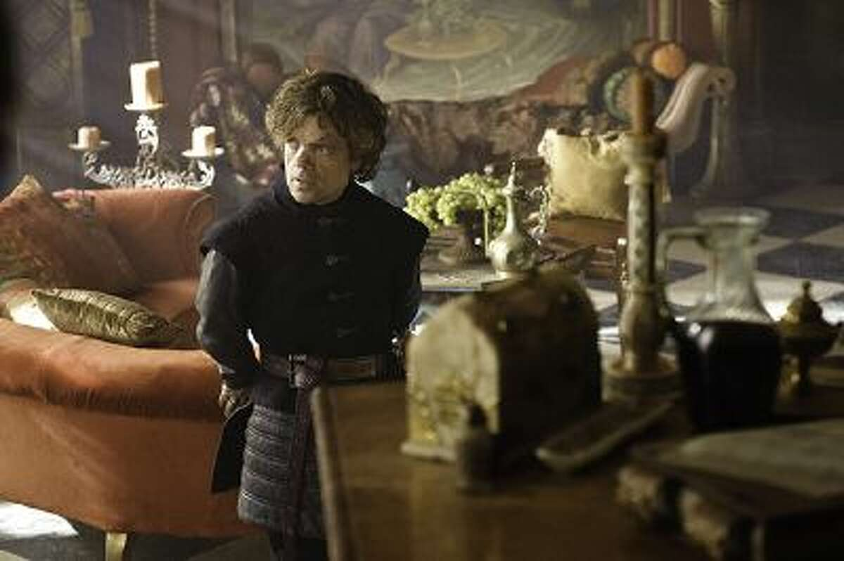 """Peter Dinklage in a scene from """"Game of Thrones."""""""