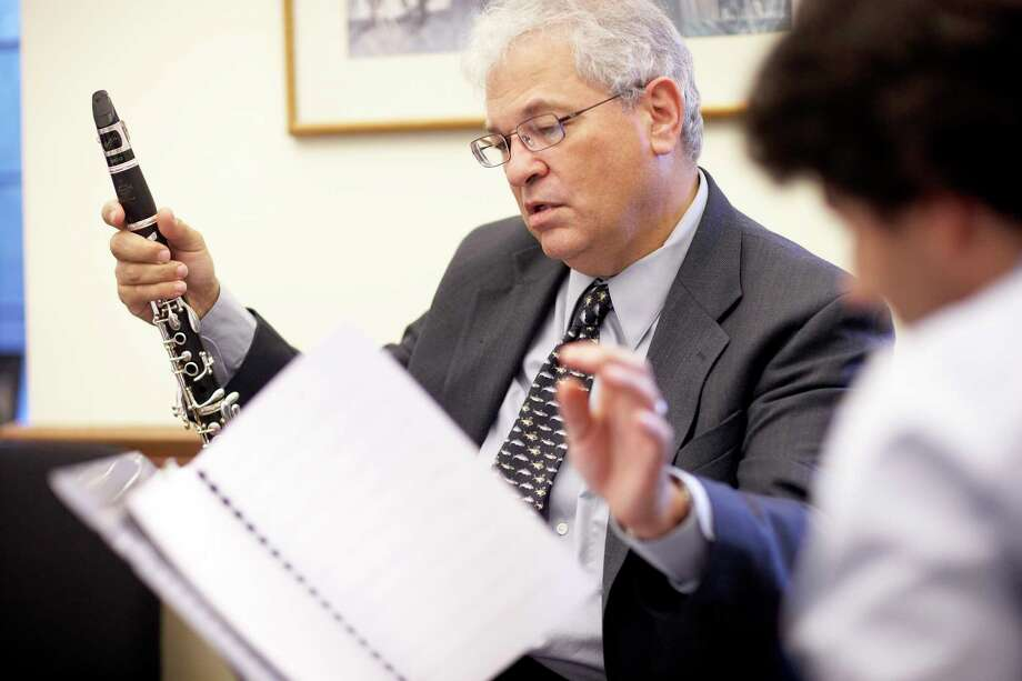 Professor of Clarinet David Shifrin is artistic director of the series. Photo: Yale School Of Music   / Bob Handelman