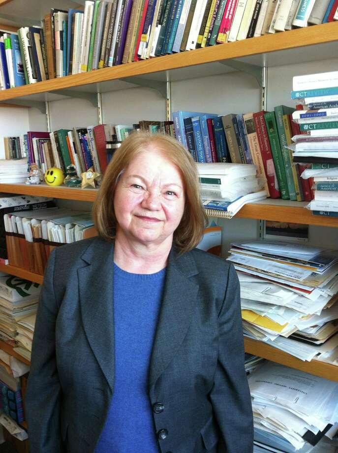Krystyna Gorniak-Kocikowska, who teaches philosophy at Southern Connecticut State University, said the future of robotics raises deep ethical questions. Photo: Journal Register Co.