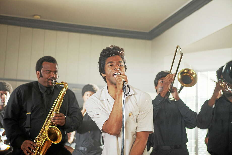 """Chadwick Boseman delivers an electrifying performance as James Brown in """"Get On Up,"""" now playing in area theaters. Photo: Universal Pictures   / © Universal Pictures"""