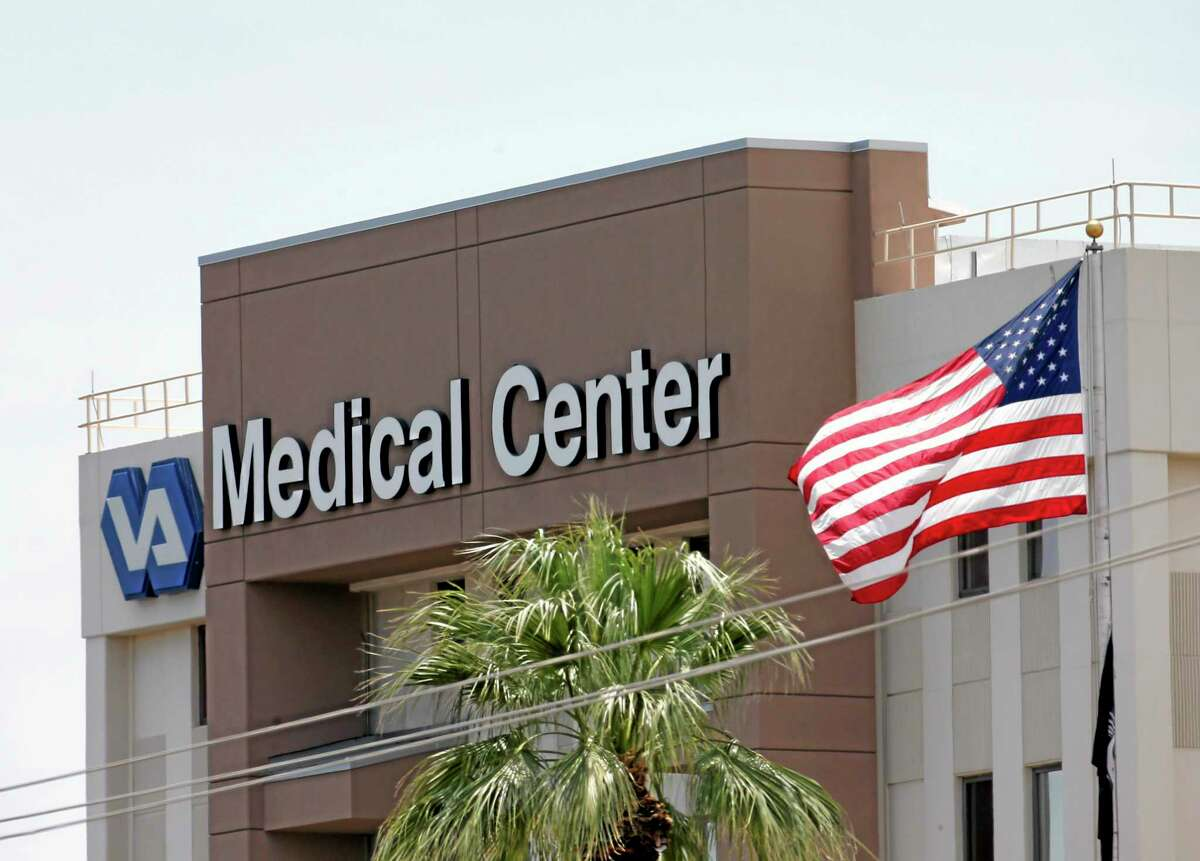 AP File Photo/Matt York This photo from May 17 shows the Department of Veterans Affairs in Phoenix.
