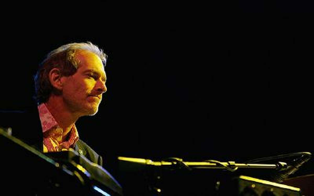 Keyboardist Benmont Tench of Tom Petty and The Heartbreakers performs at the Vegoose music festival at Sam Boyd Stadium's Star Nursery Field October 28, 2006 in Las Vegas, Nevada.
