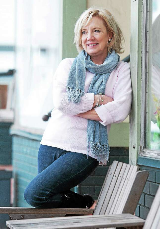 """Sandi Kahn Shelton aka Maddie Dawson will read from her new book """"The Opposite of Maybe"""" Wednesday night at the New Haven Lawn Club. She'll do a reading in Westbrook May 3 and be at Guilford Free Library May 7. Photo: Peter Casolino — Register"""