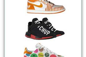 The #WhataThoseContest launched Tuesday morning, giving three fans the chance to win custom, Whataburger-themed shoes by sharing how they customize their burger orders. The sneakers are designed by San Antonio native Jake Danklefs, of Dank Customs, and each range in value from $1,300 to $2,000, according to Whataburger.