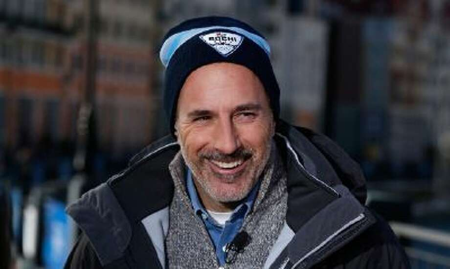 Matt Lauer reoprts for the NBC TODAY Show in the Rosa Khutor Mountain Village ahead of the Sochi 2014 Winter Olympics on February 6, 2014 in Sochi, Russia.