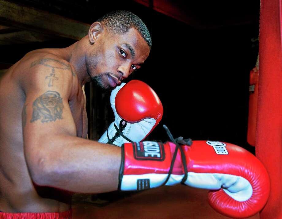 New Haven boxer Jimmy Williams. Photo: Melanie Stengel — Register