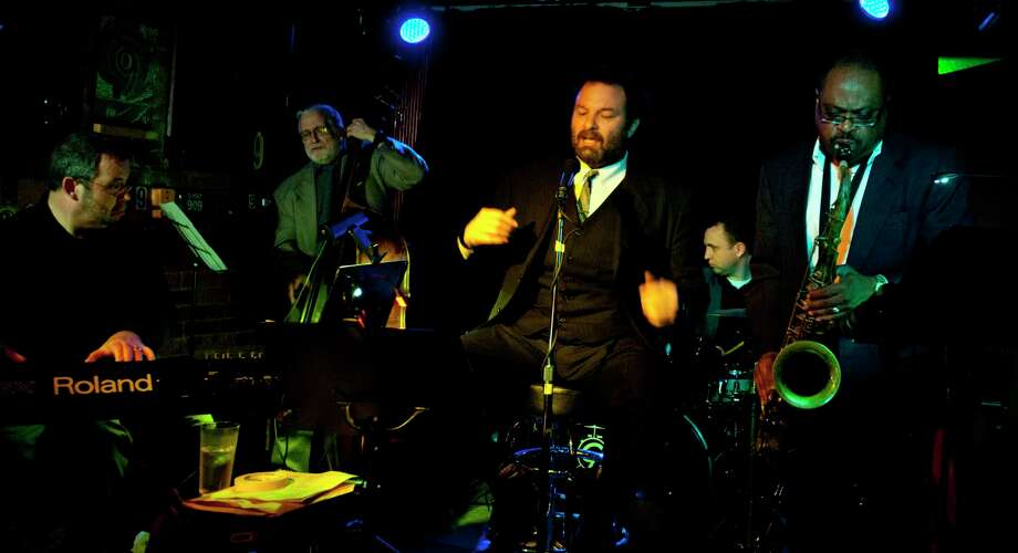 Saint James Jazz Band makes the scene at Park Central Tavern Friday night. Photo: Nick Martin Photo   / Copyright Martin Productions LLC 2011