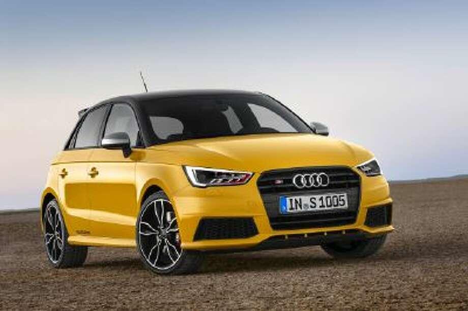 Audi S1 Sportback is available as a three-door or five-door hatchback.
