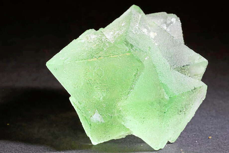 Octahedral fluorite from China. Photo: Allen Blakeslee Photo