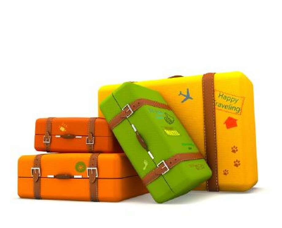 Traveling suitcases Photo: Getty Images/iStockphoto / iStockphoto