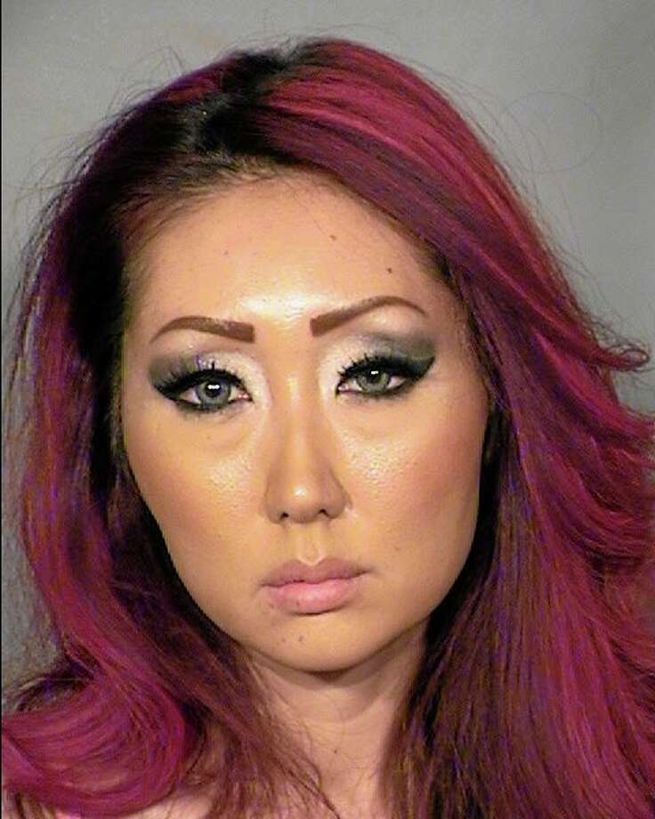 A Feb. 3 photo shows Gloria Eun Hye Lee at the Clark County Detention Center in Las Vegas. Photo: The Associated Press — Clark County Fire Department   / Clark County Fire Department