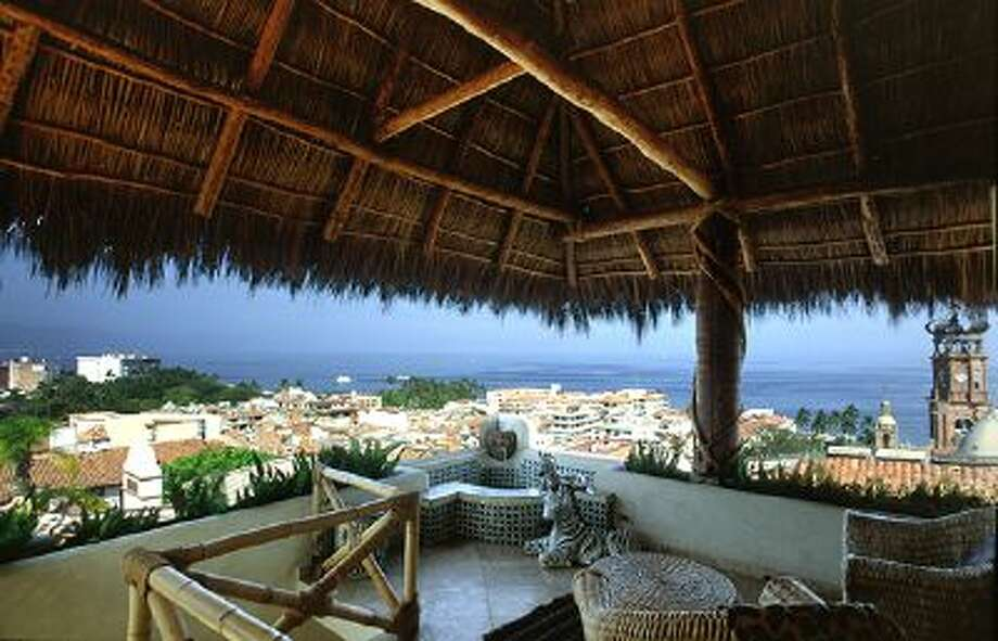 The terrace on the Celestial Suite is seen at Hacienda San Angel in Puerto Vallarta, Mexico, in this undated photo. Photo: AP / HACIENDA SAN ANGEL