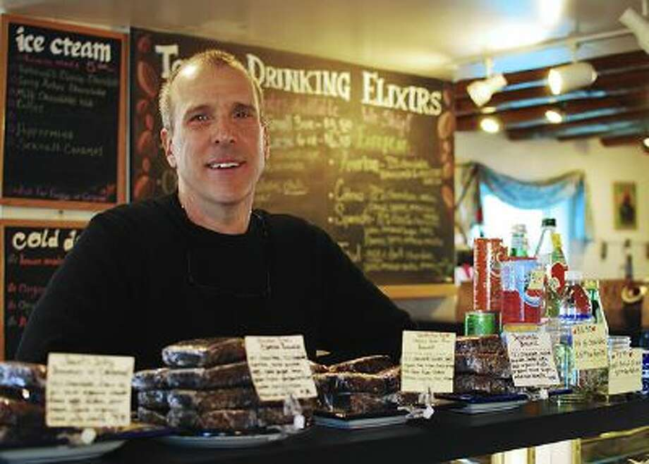 Tony Bennett, owner of Kakawa Chocolate House in Santa Fe, N.M., creates a less-sweet drinking chocolate, adding all kinds of chilies, herbs, spices and nuts. Photo: The Washington Post / THE WASHINGTON POST