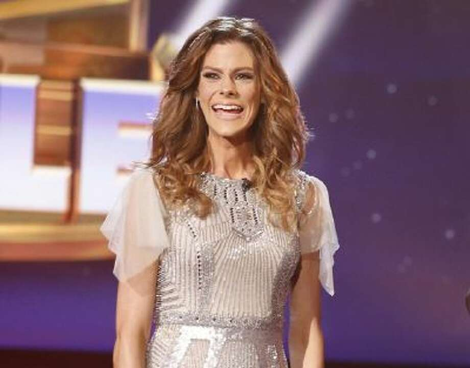 "This Feb. 4, 2014 photo released by NBC shows Rachel Frederickson on the finale of ""The Biggest Loser,"" in Los Angeles."