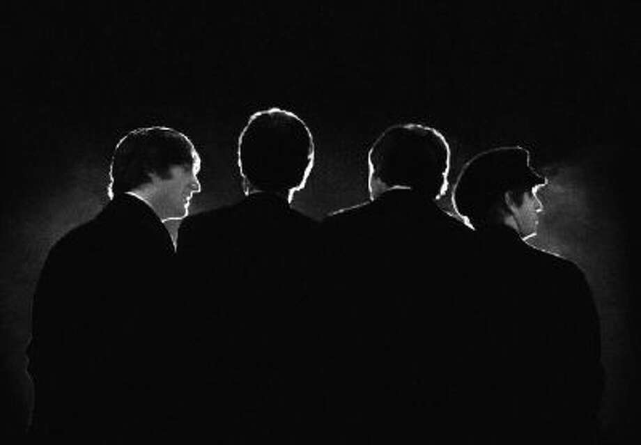 The Beatles at a Feb. 11, 1964, concert in Washington.