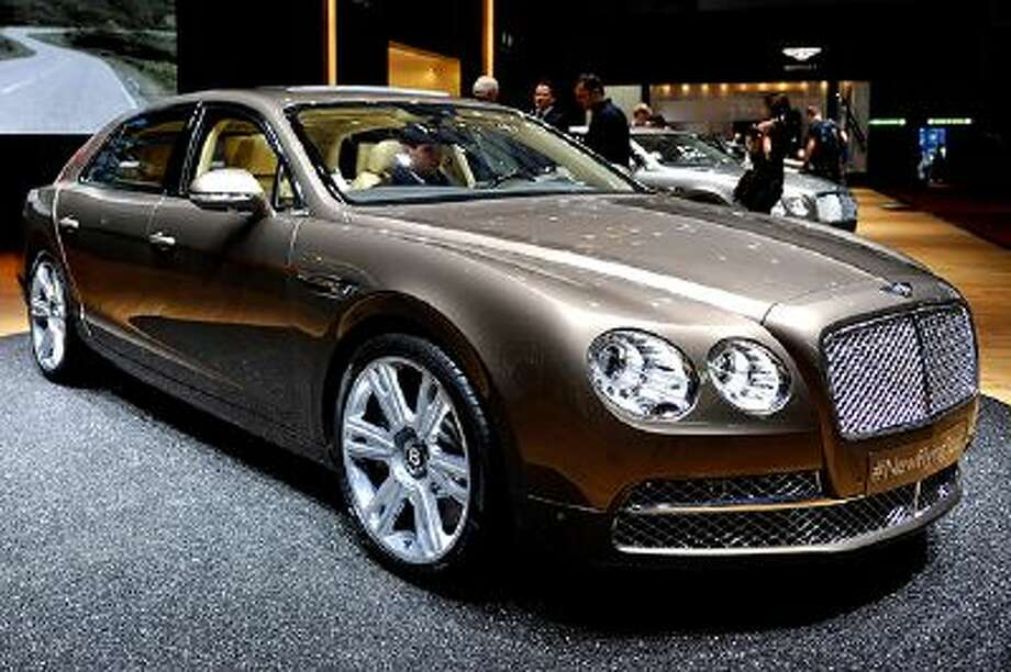 A Bentley Flying Spur is seen during the 83rd Geneva Motor Show on March 6, 2013 in Geneva, Switzerland. Photo: Getty Images / 2013 Getty Images