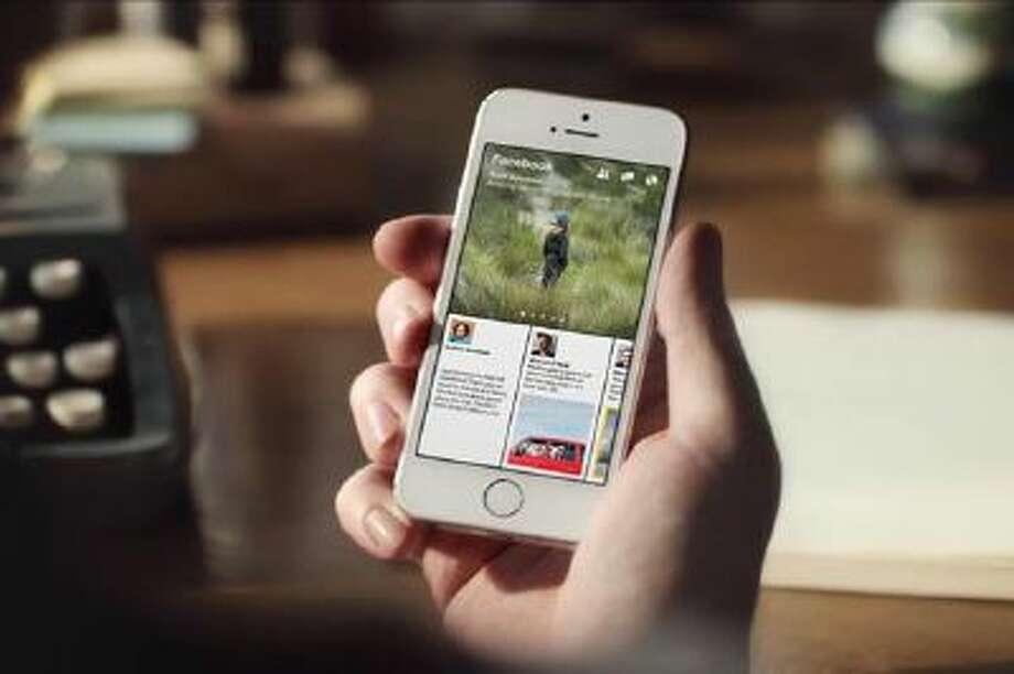 Facebook's new Paper app.