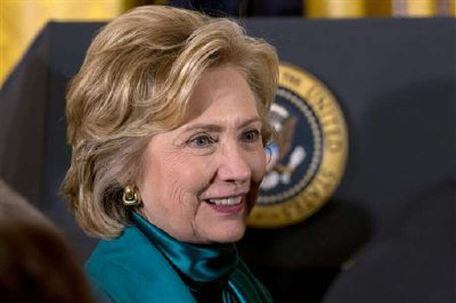 Secretary of State Hillary Rodham Clinton continues to gather support for a possible run at the White House in 2016. Photo: AP / AP