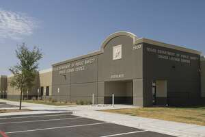 The new Department of Public Safety and Driver License Center will soon open at the corner of Wright Drive and Sloan Field Blvd. near the Midland Air and Space Port.  7/25/17  Tim Fischer/Reporter-Telegram
