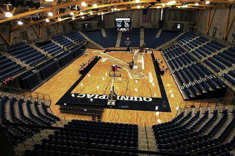 Quinnipiac's TD Bank Sports Center. Photo: Bob Child — The Associated Press   / AP2007