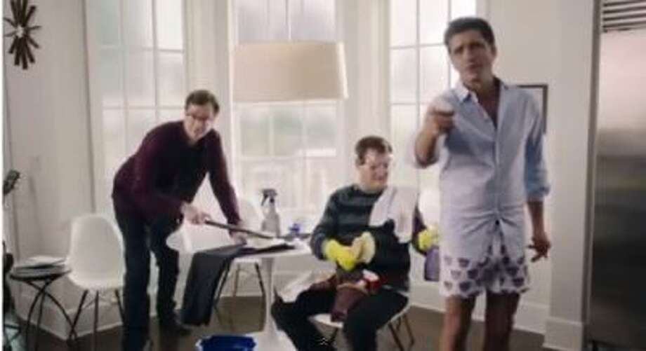 "A ""Full House"" themed ad for Dannon Yogurt during the Super Bowl."