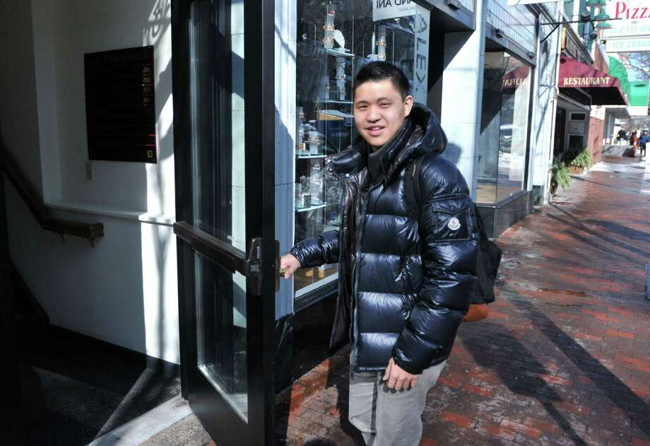 Yale student Christopher Rim has been named one of this year's Top 10 best-mannered people in the world. Photo: Peter Casolino — New Haven Register