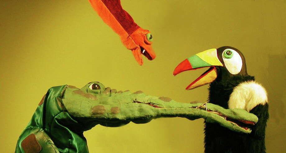 Robert Rogers Puppet Company comes to Hamden Saturday. Photo: Hamden Arts Commission