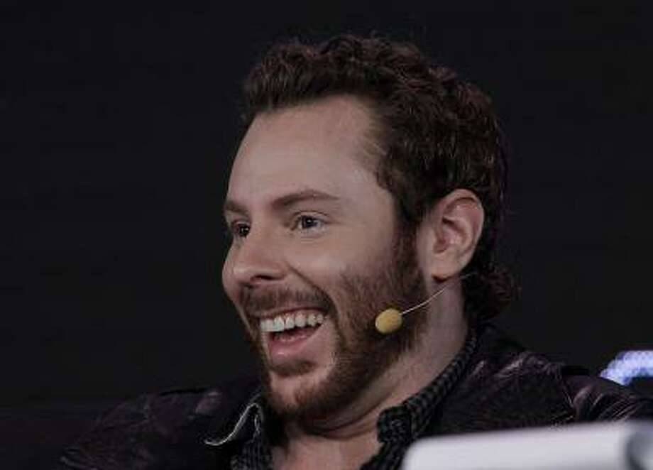 Sean Parker, Chairman of of Causes and a Managing Partner, Founder's Fund, speaks at Web. 2.0 Conference in San Francisco, Monday, Oct. 17, 2011. Parker was co-founder of Napster. (AP Photo/Paul Sakuma) Photo: AP / AP