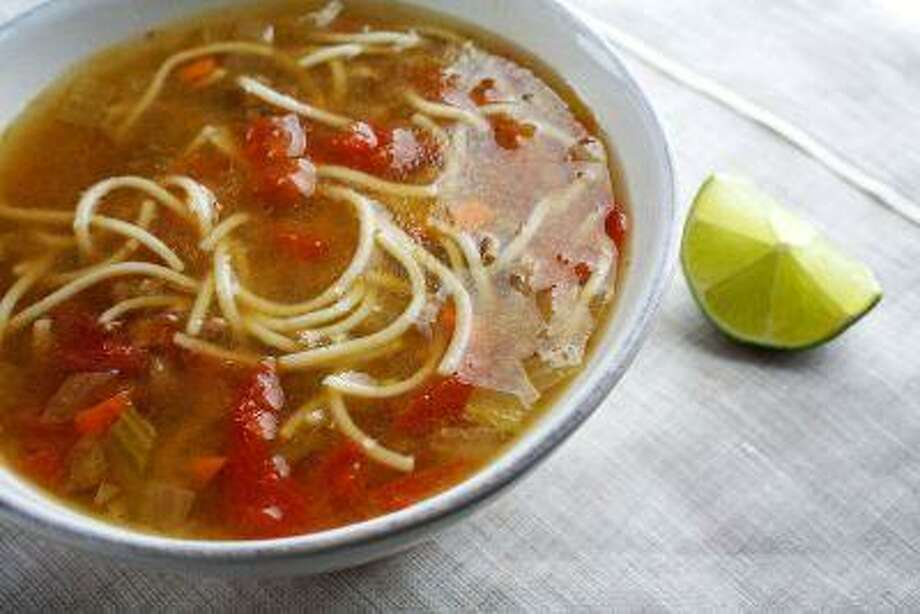 Vermicelli, Meat and Tomato Soup. Photo: The Washington Post / THE WASHINGTON POST