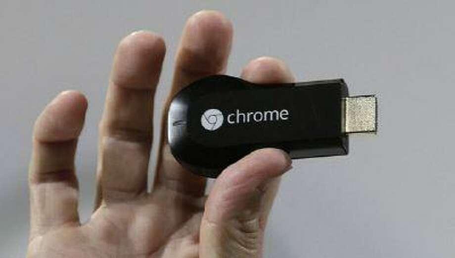 Photo of Chromecast device by Gary Reyes/San Jose Mercury News Photo: MCT / San Jose Mercury News