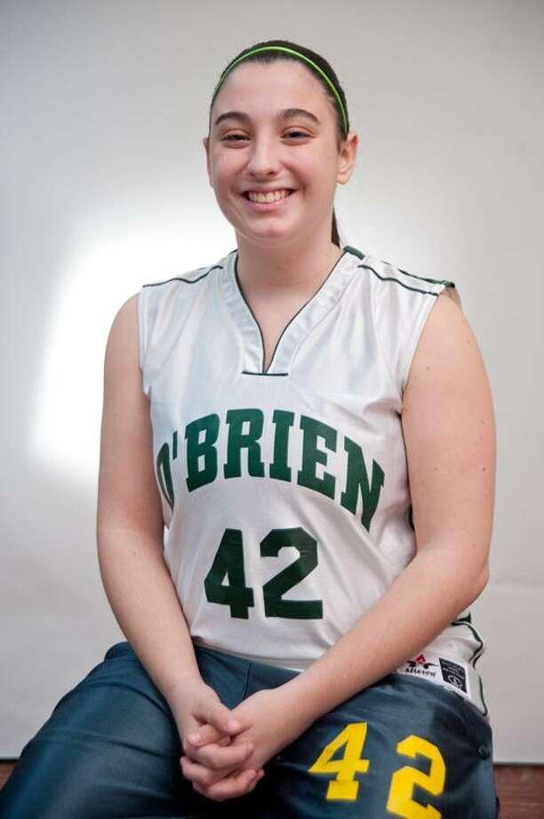 Female Athlete of the Week: Nicole Belade, O'Brien Tech basketball. vmWilliams/Register.