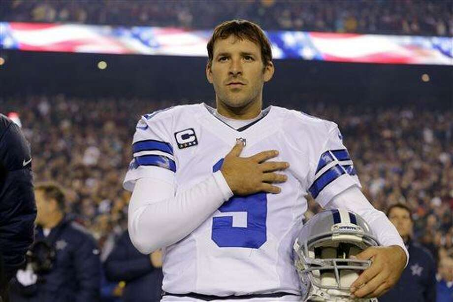 Dallas Cowboys quarterback Tony Romo and the Cowboys have agreed on a six-year contract extension worth $108 million, with about half of that guaranteed.  (AP Photo/Alex Brandon, File) Photo: AP / AP