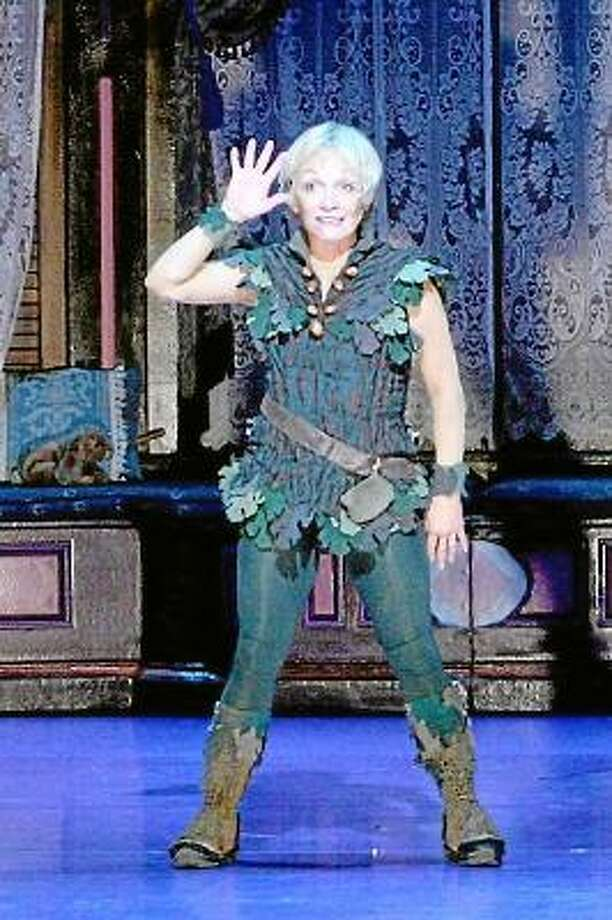 Submitted photo Cathy Rigby in her 23-year role as Peter Pan, will perform in the Broadway show at the Palace Theater in Waterbury.