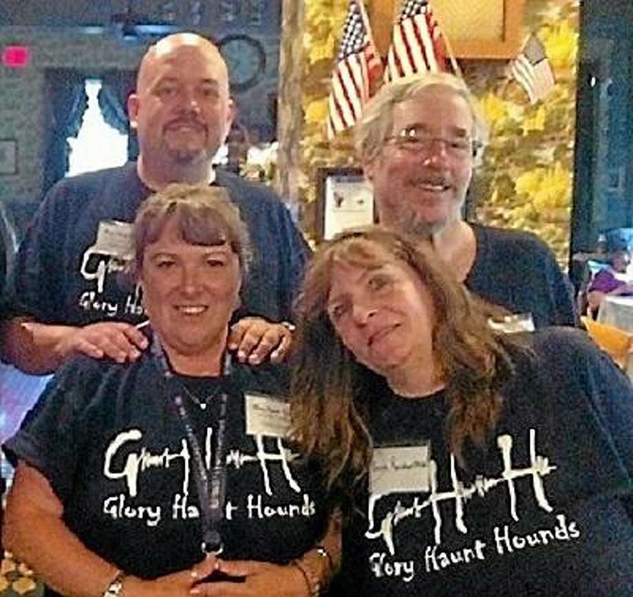 Submitted photo John Tobin and his paranormal investigations team, the Glory Hunt Hounds, are coming to the Yankee Pedlar in March for an overnight event. Tickets are on sale now.
